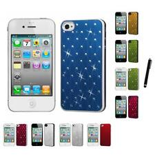For Apple iPhone 4/4S Back Plate Hard Case Phone Cover Stylus Pen