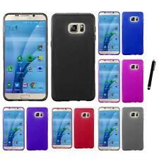 For Samsung Galaxy S7 TPU Rubber Flexible Phone Skin Case Cover Stylus Pen
