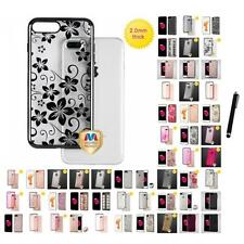 For Apple iPhone 7 Plus [5.5] TPU Hard Design Case Skin Phone Cover Stylus Pen