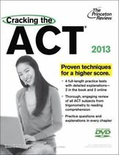 College Test Preparation Ser.: Cracking the ACT with DVD, 2013 Edition by Princ…