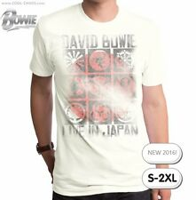 David Bowie T-Shirt / Retro Rock Tee,Reissue,Bowie Live in Japan Concert Tee