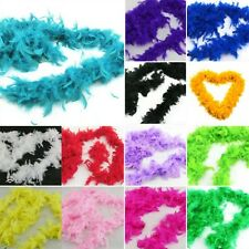 Nice Fluffy Feather Boa Dressup Hen Night Party Wedding Burlesque Dress Up E82