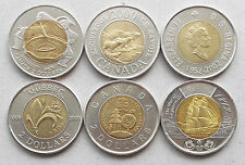 CANADA $2 Two Dollar coins * Commemoratives * Complete Your Collection