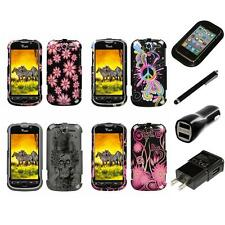 For HTC Mytouch 4G Design Snap-On Hard Case Phone Cover Charger Stylus