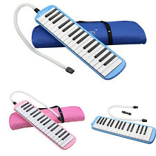 Student Instructor 32 Key Melodica Piano Style Harmonica + Carrying Bag New