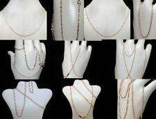GOLD FILLED 14K  BEAUTIFUL DIFFERENTS  NECKLACE - CHAIN   FREE SHIPPING