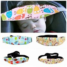 Baby Adjustable Pram Stroller Car Seat Sleep Fastening Belt Head Support