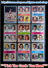 ☆ Topps 1977 Football Red Back Cards 101 to 150 (VG) *Pick The Cards You Need*