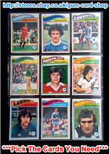 ☆ Topps 1978 Football Orange Back Cards 1 to 54 (VG) *Please Choose Cards*
