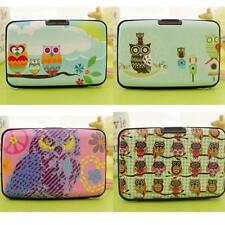 Case Box Owl Card Bag ID Credit Wallet Protector Holder