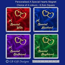PERSONALISED A SPECIAL HEART FRIDGE MAGNET VALENTINES DAY XMAS BIRTHDAY GIFT