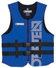 O'Brien Traditional Neoprene Waterski Watersports Vest, XS or 3XL Blue. 56406