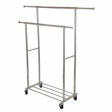 Double Garment Rack, Stainless steel