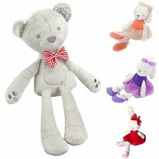 New Lovely Bunny Soft Plush Toys Rabbit Stuffed Bear Baby Kids Gift Animals Doll