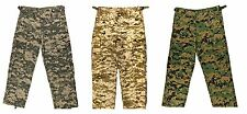 KIDS Camo Cargo Pants BDU Style Child Boys Girls Military Army Navy USMC Hunting