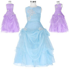 Formal Girl Communion Party Prom Princess Pageant Bridesmaid Flower Girl Dress
