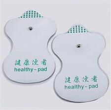 White Electrode Pads For Tens Acupuncture Digital Therapy Machine Massager BBUS