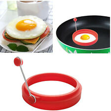 Frying Fried Egg Round Mold Kitchen Mould Tool Silicone Pancake Fry Egg Ring