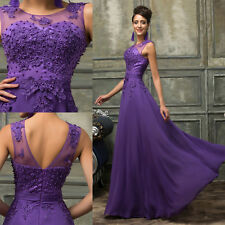 PLUS SIZE 2-24W Wedding Evening Dress Party Ball Gown Prom Bridesmaid Dress plus