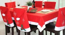 Christmas Dinner Table Decoration Tablecloth Chair Cover Wine Wrap Tableware Bag