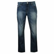 Lee Cooper Mens Gents Straight Leg Jeans Pants Trousers Clothing