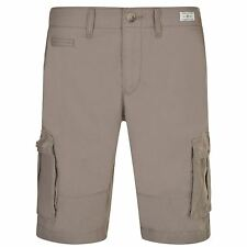 TOMMY HILFIGER Mens Gents John Cargo Shorts Zipped Pantaloons Clothing