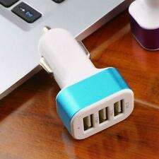3 Port Triple USB Universal Car Charger Adapter 5V 2.1A 1A For iPhone Cell Phone