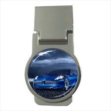 Fisker Karma Round Money Clip - (Optional CZ Cubic Zircon Stones)