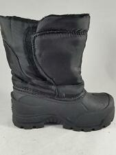 Boy's Toddler NORTHSIDE Black Insulated Snow Winter Boots New