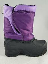 Girl's Toddler NORTHSIDE Purple/Black Insulated Snow Winter Boots New