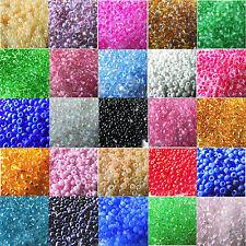 4000 pcs 2mm czech glass seed spacer beads jewelry making diy pick 22 colors