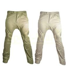 Boys Youth Fly Guy Drop Crotch Cuffed Chinos Casual Jeans Trousers Waist Size