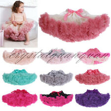Flower Girl Net Petticoat Mini Puff Skirt Slips Child Tutu Dance Crinoline Tulle