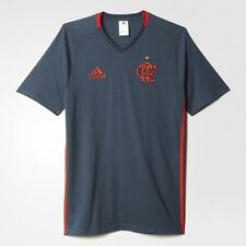 NEW Flamengo Trip Shirt Grey Soccer Football Maglia Jersey - 2016 Adidas Brazil