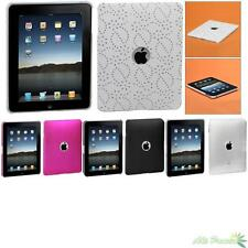 For Apple iPad(1st generation) Snap-on Ring Back Hard Protector Case Cover