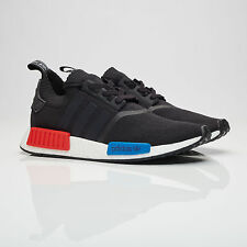 2017 Adidas NMD R1 PK OG S79168 Size 5-14 LIMITED 100% Authentic Black Red Blue
