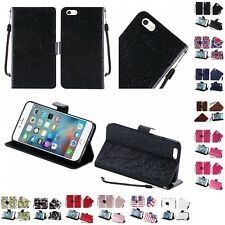 For Apple iPhone 5 Wallet Case Pouch With ID Card Pocket Slots