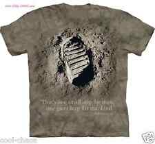 First Man on the Moon Neil Armstrong Men's T-Shirt S-L-M-XL-2X-3X Space NASA