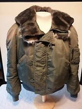 U.S. Issue N-2B Flyer's Parka Alpha Industries 1982 Large Size