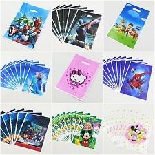 Children Birthday Party Loot Goodie Bags Candy Chocolate Bags Party Supplies