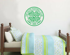 Celtic Football Club Crest Set Wall Sticker Official Merchandise - Decal Footbal