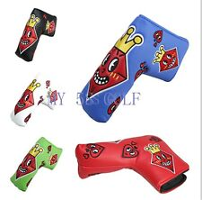 New Golf Putter Head Cover Blade Headcover For Titleist Taylormade Ping 5colors