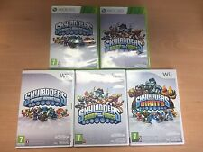 Skylanders Giants, Swap Force, Spyros Adventure Game PAL Game Only Wii 360 USED