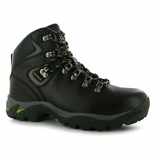 Karrimor Skido Waterproof Walking Boots Womens Brown/Green Hiking Boots