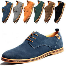 2017 Fashion Mens Suede Leather Shoes European Style Comfort Casual shoes P1