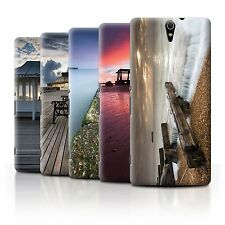STUFF4 Phone Case/Back Cover for Sony Xperia C5 Ultra /English Seaside