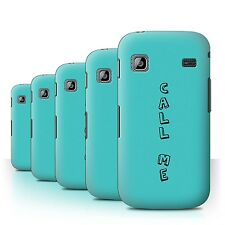STUFF4 Back Case/Cover/Skin for Samsung Galaxy Gio/S5660/Doodle Words