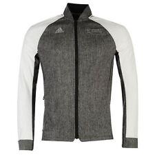 adidas Virgin London Marathon 2016 Jacket Mens Black Running Top Sportswear