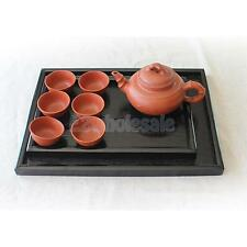 Wooden Serving Tray Trays Tea Food Server Dishes Platter Square Plate XS-XXL