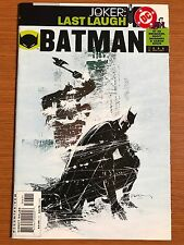 Batman #596 (vol. 1) 1st Print JOKER: LAST LAUGH DC VF/NM GOTHAM .99 Sale!